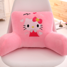 Car Sofa Washable throw pillow Office Waist Support Back throw pillow Large Size Chair Backrest Lumbar Cartoon Bedside Pillow
