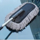 Discount Car Telescopic Retractable Handle Duster Wash Brush Wax Mop Interior Use Cleaning Tool China