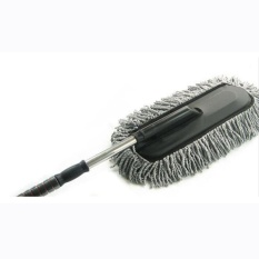 Car Telescopic Retractable Handle Duster Wash Brush Wax Mop Interior Use Cleaning Tool Intl Deal