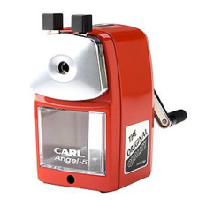 Compare Carl Angel 5 Pencil Sharpener Red