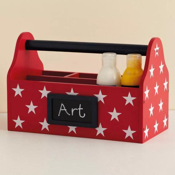 Carry Caddy-Red & White Star