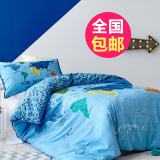 Compare Price Cartoon Children S Room Single Person Bed Supplies Other On China