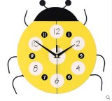 Buy Cartoon Creative Living Room Resin Wall Clock Bedroom Children S Room Decoration Electronic Mute Clock Intl China