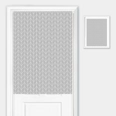 Cartoon Cotton Linen Door Curtain Northern Europe Cat Curtain Partition Fabric Wind Bath Curtain Bathroom Half Curtain Bedroom Cloth Curtain