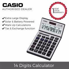 Buy Casio Js 140Tvs Sr 14 Digits Heavy Duty Desktop Calculator Online Singapore