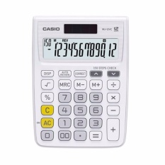 Cheapest Casio Mj 12Vc We Electronic Calculator Mj12Vc White Intl Online
