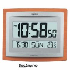 Discount Casio Wall Clock With Thermometer Calender Id 15S 5D