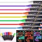 Buy Catwalk 8 Liquid Chalk Pens Marker Reversible Neon Colours Whiteboeard Wipe Clean 6Mm Intl Catwalk
