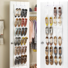 How To Get Catwalk Crystal Collection Over The Door Shoe Organizer White Intl