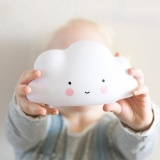 Cenita Clouds Face Night Light Emitting Children Nursery Room Decor For Baby Kids Intl Reviews