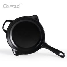 Ceramic Small Flat Pot Does Not Stick Pot Gas Stove Fire No Fumes Omelette Pan Steak Frying Pan Flat Frying Pan Wok Cheap