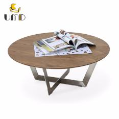 UMD Stainless Steel Base Contemporary Designer Coffee Table (1515 Round)
