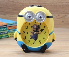 Get Cheap Children Cartoon Minions Alarm Clock Bedroom Nightstand As A Nice Gift Intl