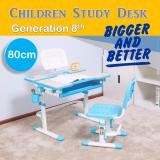 Compare Children Ergonomics Study Table And Chair With Led Gen 8 With Newly Added Features Children Ergonomics Study Desk Gen8 Blue Prices