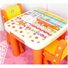 Price Children Study Table With 2 Chairs Set Cartoon Cute Design Dining Table Baby Toddler Present Christmas Gift Oem Singapore