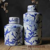 Purchase Chinese Style Blue And White Porcelain Pot Online