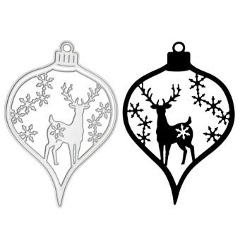 Christmas Deer Cutting Die Embossing Scrapbook Craft Card