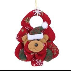 Christmas Tree Santa Claus Household Ornaments Pendant(multicolor) - Intl By Crystalawaking.