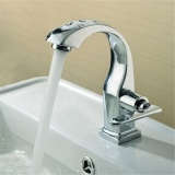 Sale Chrome Finish Single Lever Home Bathroom Basin Faucet Spout Sink Cold Water Tap Intl Not Specified On China