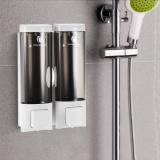 Buy Chuangdian Manual Hand Soap Dispenser Wall Mount Double Liquid Shampoo Shower Gel Dispenser Hand Cleanser Washroom Lotion Dispenser For Bathroom Restroom Hotel 200Mlx2 Intl Online