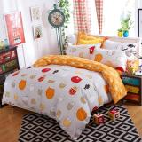 Store City Sky Printing Cotton With Polyester Bedding Set Flat Sheet Quilt Cover Pillow Cases With Queen Full Twin Size Oem On Singapore