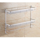 Buy Classic Bathroom Racks 40Cm Double Tier Online Singapore