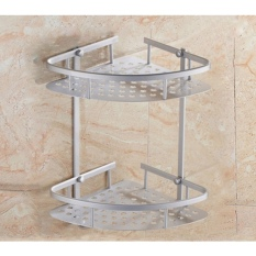 Price Classic Bathroom Racks V Shaped Corner Double Tier On Singapore