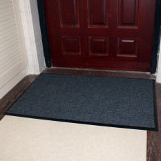 CLASSIC Entrance Doormat Rub Gray Dust Doormat Double Article Non-slip Floor Mat Bathroom Mat Strong Durable