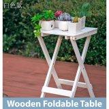 Sale Classic Wooden Folding Foldable Portable Table White Folding Tables