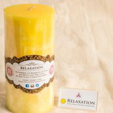 Natural Scented Palm Wax Candles With Mood Enhancer And Read Aloud Affirmations To Help Bring Out The Feel of Relaxation Within You - Candle Size (3x6) Burning 90 hours