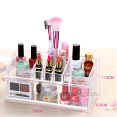 Clear Acrylic Transparent Make Up Makeup Cosmetic Jewellery Jewelry Organiser Organizer Drawer Storage Box Holder I C53
