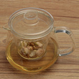 Price Comparisons For Clear Heat Resistant Glass Teapot With Infuser Coffee Tea Leaf Herbal Pot 500Ml Intl