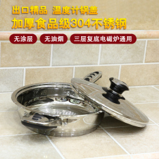 Retail Price 24Cm Trial Medical Stainless Steel Non Stick Pot