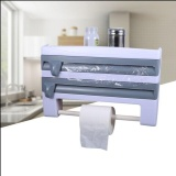 Sale Cling Film Sauce Bottle Storage Rack Paper Towel Holder Kitchen Plastic Intl