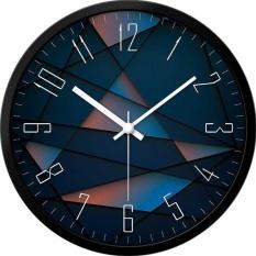 clock quartz watch watch creative modern living room bedroom quiet personality big clock on the wall size:12inch(30cm) - intl