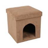 Best Reviews Of Cloth Pet Kennel Folding Storage Box Storage Stool