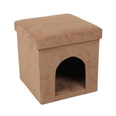 Cloth Pet Kennel Folding Storage Box Storage Stool Review