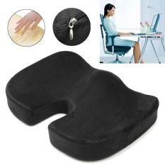 Coccyx Orthopedic Memory Foam Seat Cushion Offic Chair Car Seat Back Pain Relief - intl