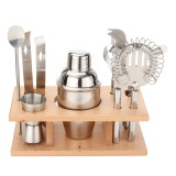 Sale Cocktail Sets Shakers Bar Mixer Stainless Steel Kit Drink Silver 8 Pieces Intl Online On China