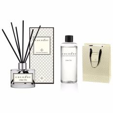 Cocodor Aroma Reed Diffuser Urban Chic 200ml Diffuser + 200ml Refill + 10 Reed Sticks