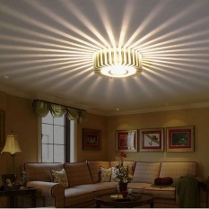Cocotina 3W LED Aluminum Ceiling Light Fixture White Pendant Lamp Lighting Chandelier