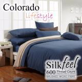 Colorado Silkfeel Bedsheet Set C527 Denim Deal