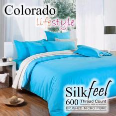 Top 10 Colorado Silkfeel Bedsheet Set C521 Blue