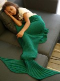 Who Sells Comfortable Flounced Design Knitted Mermaid Tail Blanket Intl The Cheapest