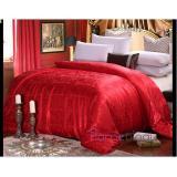 Comfortable Wellness Silk Blanket Quilt Bedding Set Flannel Fleece Coral Bed Sheet Promo Code