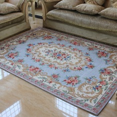 Sale Constant Color American Carpet Living Room Mediterranean Coffee Table Pad Bedroom Bed Before Modern Minimalist Machine Wash Restaurant European Garden Online On China