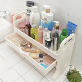 Discounted Corner Bathroom Toilet Storage Washed Station Rack Shelf