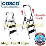 Discount Cosco Magic Fold 3 Steps Aluminum Ladder Lightweight Singapore
