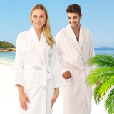 Buy Cotton Spring And Summer Thin Men And Women Hotel Bathrobe China