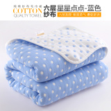 Cotton Gauze Single Or Double Towel Nap Blanket Leisure Blanket Air Conditioning Blanket Towel Thin Quilt Best Price